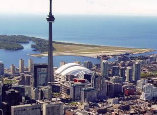 Toronto skyline and coast, Canada - America (Group city break to Canada)
