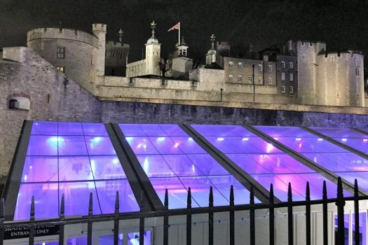 Tower of London - Ice rink