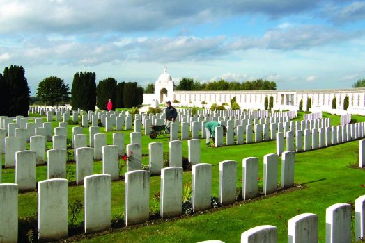 Tyne Cot cemetery ©Commonwealth war graves commission