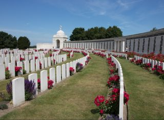 Belgium, WW1, world war one, tyne cot cemetery, © PT Wilding