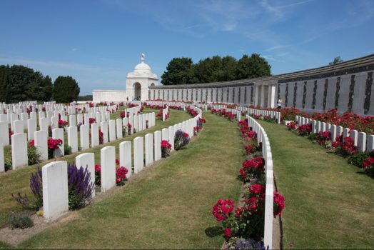 Belgium, WW1, world war one, tyne cot cemetery, © PT Wilding