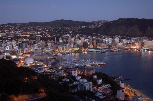 Wellington Harbour, New Zealand ©Ian-Trafford