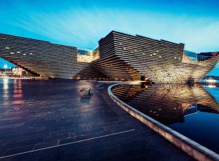V&A Dundee, Scotland - Exterior large