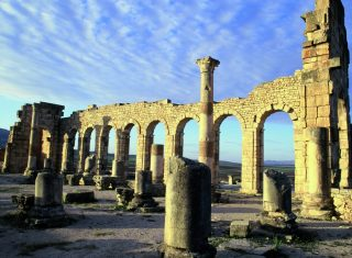 Volubilis ruins, Morocco, Worldwide Travel
