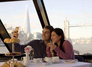 Afternoon Tea Cruise, London (City Cruises©citycruises.com