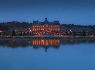 France, The Château Vaux Le Vicomte Candlelight Evening (Versailles) ©Collectif images Melun
