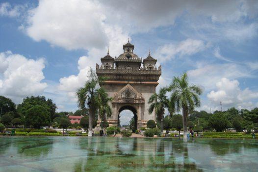 Laos, Vientiane, Patuxai Arch © Easia Travel EXPIRES 10.10.2020
