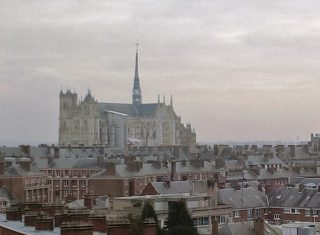 View from Ibis Amiens Centre Cathédrale to Cathedral