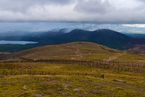 View from the Cairngorm Mountain Railway, Scotland (KWY-NCN)