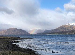 View over Loch Leven, Scotland - Fam Trip March 2019