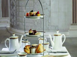 Afternoon Tea at the Waldorf Hilton Hotel
