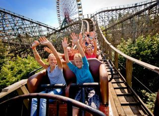 Walibi Belgium, Theme Park, Loup Garou, group travel