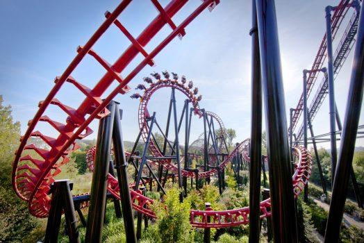 Walibi, Belgium, Theme Park, vampire, group travel