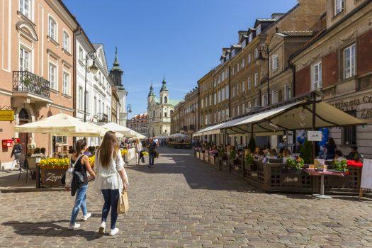 Warsaw new town, group tour to warsaw, warsaw for groups, poland © Photo Filip Kwiatkowski © Warsaw Tourist Office