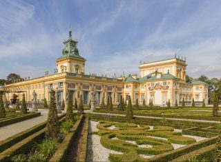 Wilanów palace warsaw for groups, group holiday to poland © Photo Filip Kwiatkowski © Warsaw Tourist Office