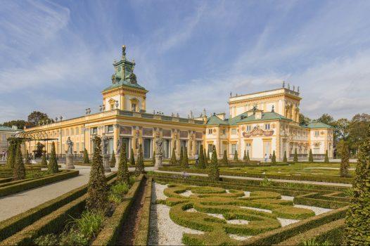 Wilanów palace warsaw for groups, group holiday to poland © Photo Filip Kwiatkowski © Warsaw Tourist Office