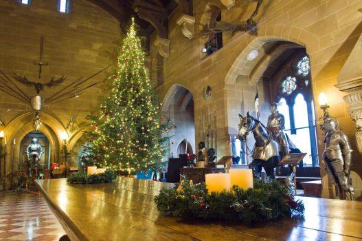Warwick Castle, Warwickshire - Castle dressed for Christmas © www.warwick-castle.com