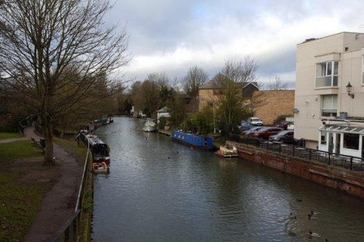 River Lee at Ware