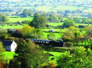 Wensleydale Railway through the Yorkshire dales, York, Yorkshire