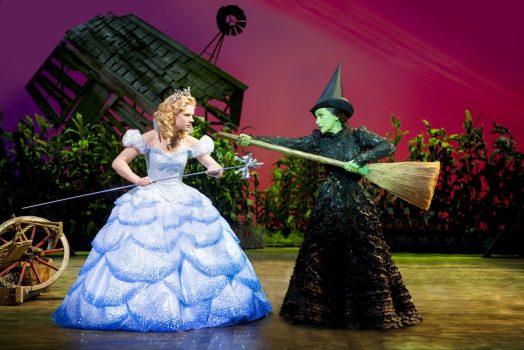 A scene from the musical Wicked at the Apollo Victoria ©Tristram Kenton / Matt Crockett / FallenHouse