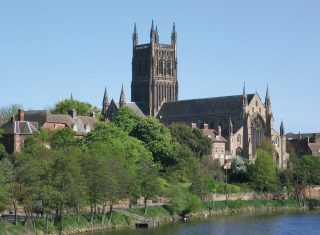 Herefordshire & Worcestershire Herefordshire & Worcestershire Worcester Cathedral © Destination Worcestershire