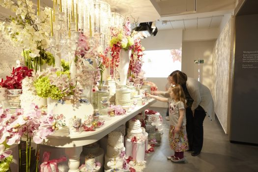 Flower Arrangements at World of Wedgwood