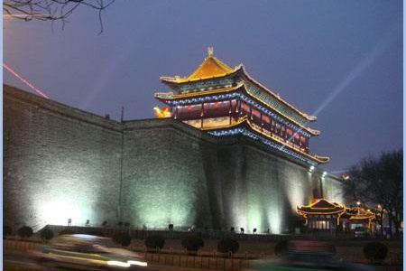 Xian City Wall, China NCN