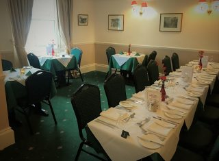 Yarn Market Hotel, Dunster, Somerset - Restaurant