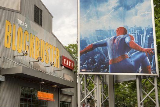 Disney© Blockbuster Café in Backlot in Walt Disney Studios® Park