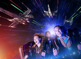 Beat the January Blues Star Wars™ Hyperspace Mountain