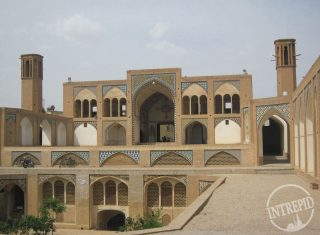 AghaBozorg mosque Kashan, central Iran