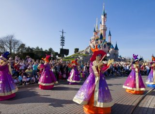 Disney's Magic on Parade in Disneyland Paris