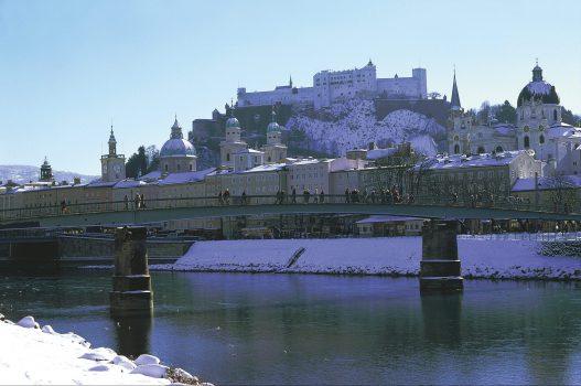 Salzburg, Austria - Winter in the city © Tourismus Salzburg GmbH