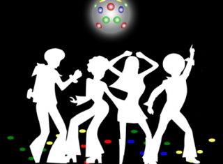Swinging Sixties 1960's themed entertainment break
