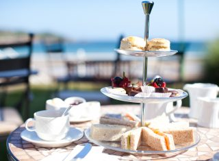 Afternoon Tea at St Brelades Bay Hotel, Jersey