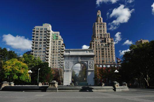washington square park, New York City for groups Sightseeing